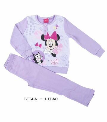 Pigiama da bambina in CALDO cotone Disney Minnie MIN-0017 - SITE_NAME_SEO