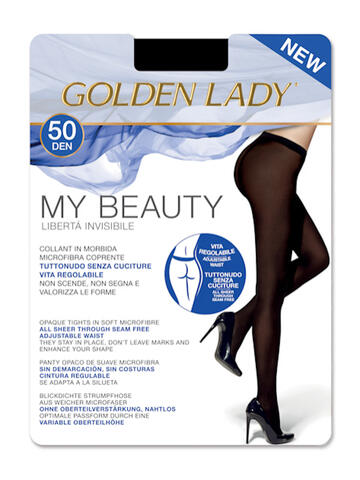 COLLANT DONNA GOLDEN LADY MY BEAUTY 50 - SITE_NAME_SEO