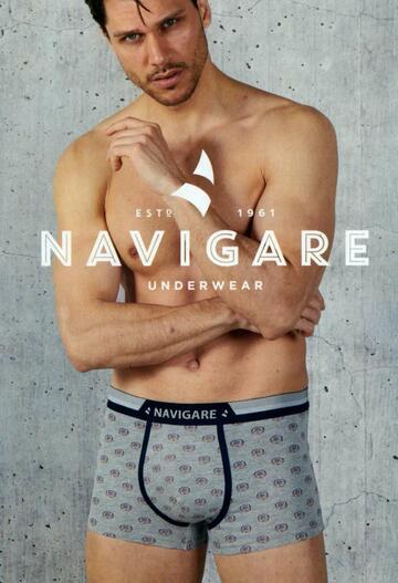 Boxer uomo moda in cotone elasticizzato Navigare 1027Z - SITE_NAME_SEO