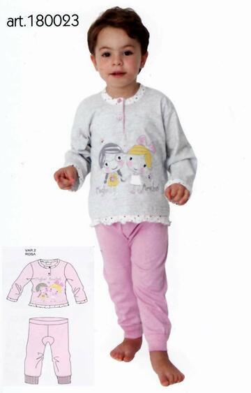 Pigiama neonata in jersey di cotone Gary 180023 - SITE_NAME_SEO