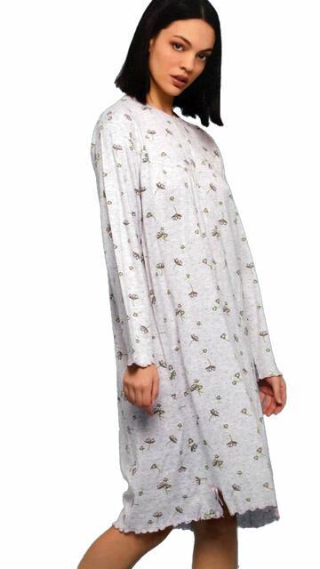 Camicia da notte donna in cotone Cippi 2601 - SITE_NAME_SEO