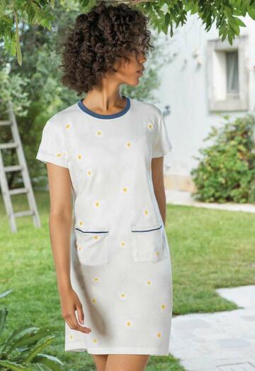 Camicia da notte donna manica corta Jadea Home 3120 - SITE_NAME_SEO