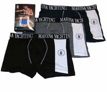 Boxer uomo in cotone elasticizzato Marina Yachting MY452 - SITE_NAME_SEO