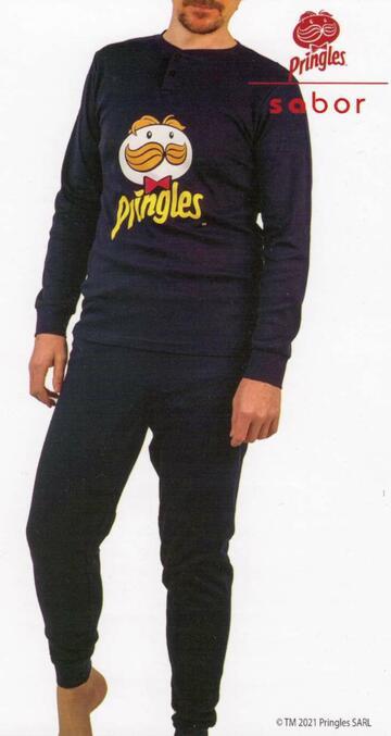Pigiama uomo in cotone caldo Pringles SMWM4630 - SITE_NAME_SEO