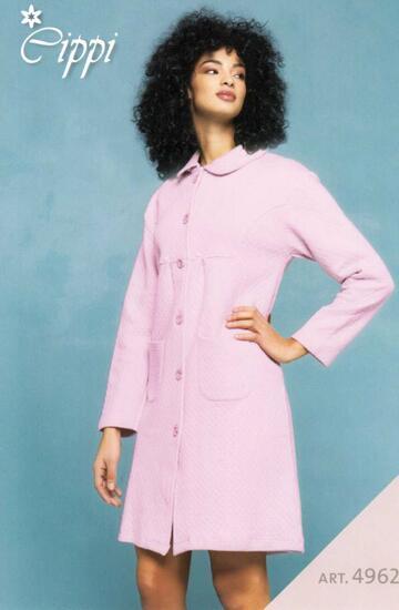 Vestaglia donna in cotone caldo trapuntato Cippi 4962 Tg. M/XXL - SITE_NAME_SEO