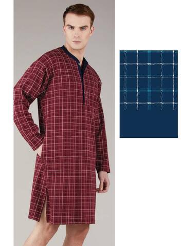 Camicia da notte uomo caldo cotone Bip Bip 6347 - SITE_NAME_SEO