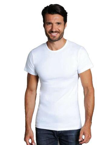 T-shirt uomo in cotone felpato Giovanni Rosanna 70 BIANCO - SITE_NAME_SEO