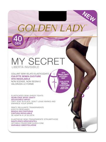 COLLANT SEMI VELATO DONNA GOLDEN LADY MY SECRET 40 - SITE_NAME_SEO