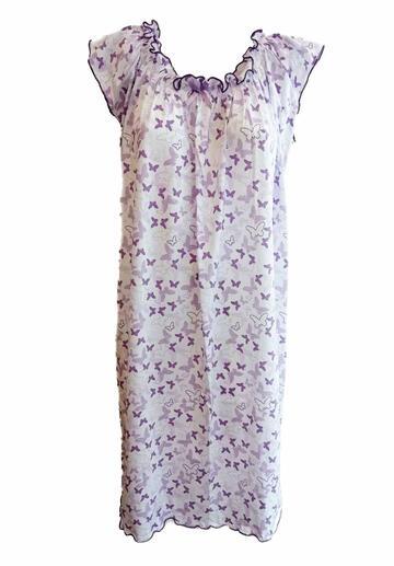 Camicia da notte donna a spalla larga Fiorenza Amadori Aletta - SITE_NAME_SEO