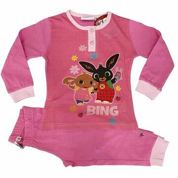 Pigiama da bambina manica lunga in cotone Bing Bunny BIN20-13464 - SITE_NAME_SEO