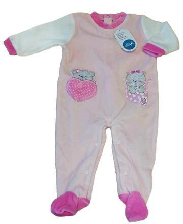Tutina neonato in ciniglia Ellepi BQ 3020 - SITE_NAME_SEO