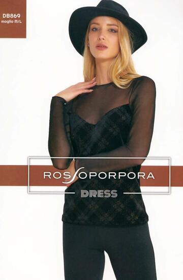 MAGLIA SOTTOGIACCA DONNA ROSSOPORPORA DB869 - SITE_NAME_SEO