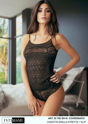Completo donna con top spalla stretta e brasiliana Intimami ID762 - SITE_NAME_SEO