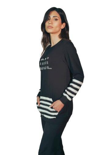 Pigiama homewear donna in cotone caldo Intimami ID777 - SITE_NAME_SEO