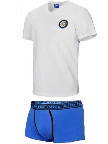 Completo uomo con t-shirt e boxer Inter B2IN11055 - SITE_NAME_SEO