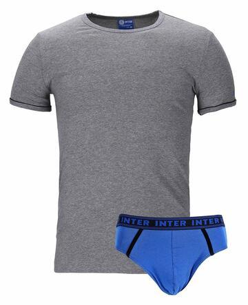 Completo bambino con t-shirt e slip Inter IN12056 - SITE_NAME_SEO