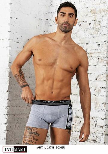 Boxer uomo vita bassa Intimami IU217B - SITE_NAME_SEO