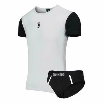 Completo bambino con t-shirt e slip Juventus B2JU12056 - SITE_NAME_SEO