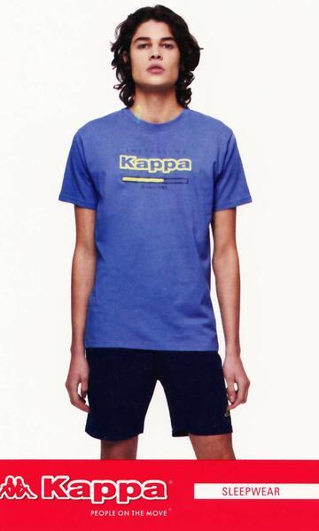 Pigiama uomo corto cotone Kappa KMS21232 - SITE_NAME_SEO