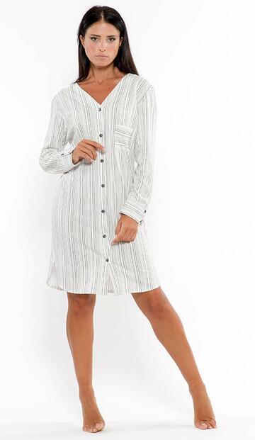 Vestaglietta donna in jersey di cotone Gary L50092 - SITE_NAME_SEO