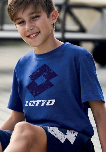 Pigiama homewear ragazzo corto in cotone Lotto LP8033 - SITE_NAME_SEO