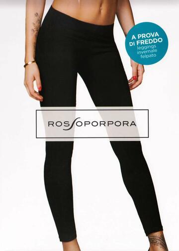 Leggings donna in cotone felpato Rosso Porpora LR104F - SITE_NAME_SEO