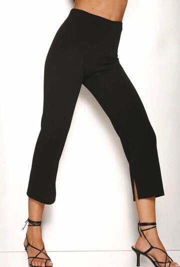 Leggings donna con spacco Rosso Porpora LR341 - SITE_NAME_SEO