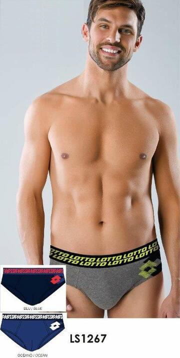 Slip uomo moda in cotone elasticizzato Lotto LS1267 - SITE_NAME_SEO