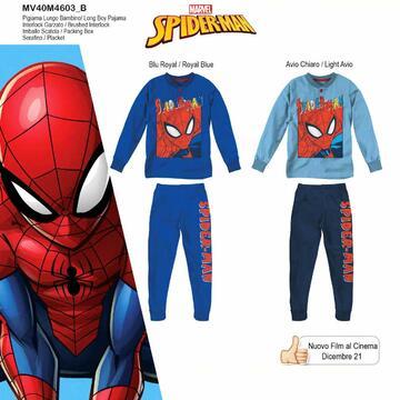Pigiama da bambino in CALDO cotone Marvel Spiderman MV40M4603 - SITE_NAME_SEO