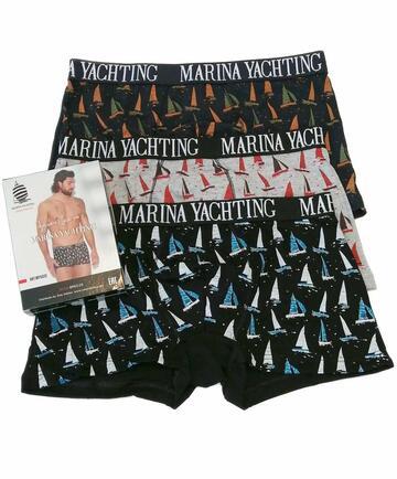 Boxer uomo in cotone elasticizzato Marina Yachting MY502 - SITE_NAME_SEO