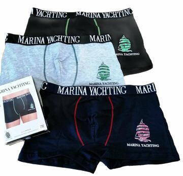 Boxer uomo in cotone elasticizzato Marina Yachting MY544 - SITE_NAME_SEO