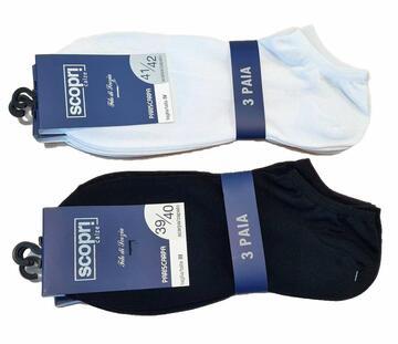 Fantasmino sneaker in cotone filo di Scozia Scopri Prisco Melbourne X3 - SITE_NAME_SEO