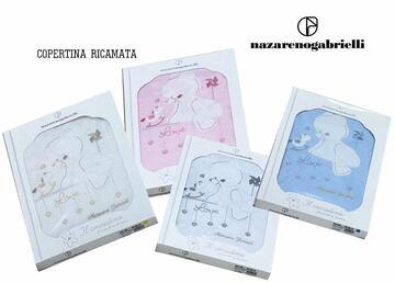 Copertina da lettino in cotone Nazareno Gabrielli NG520 - SITE_NAME_SEO