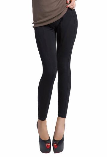 Leggings donna in caldo jersey felpato effetto orsetto Gladys PD0933 - SITE_NAME_SEO