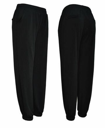 Pantalone donna jogger con polsini Gladys PD1414 - SITE_NAME_SEO