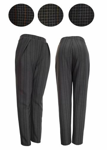 Pantalone moda donna felpato Gladys PD1537 - SITE_NAME_SEO