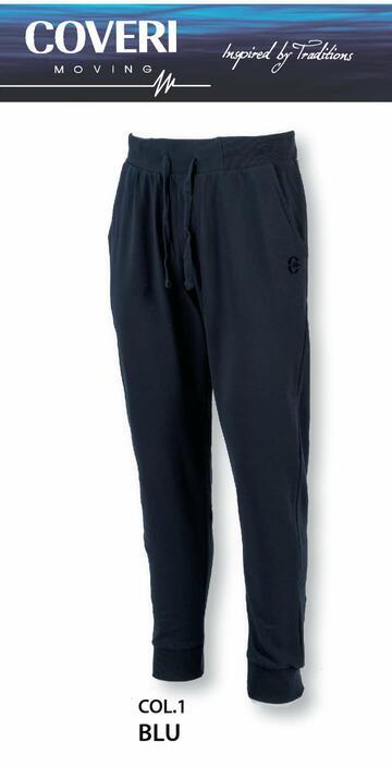 Pantalone tuta uomo in cotone garzato Coveri Moving PF502 - SITE_NAME_SEO