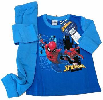 Pigiama bambino manica lunga in cotone Spider Man SPM-001 - SITE_NAME_SEO
