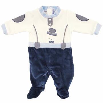 Tutina in ciniglia da neonato Bidibimbo T1610 - SITE_NAME_SEO