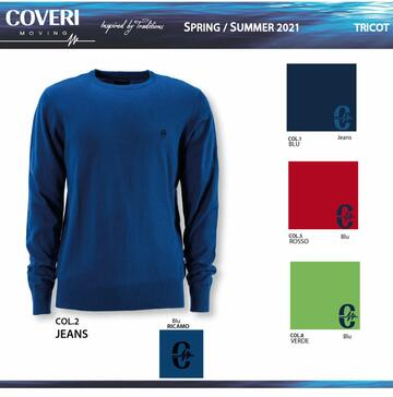Maglia uomo in cotone tricot Coveri TR1958 - SITE_NAME_SEO