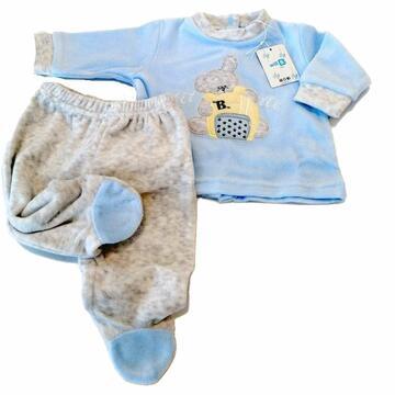 Completo clinico neonato in ciniglia Will B W105C - SITE_NAME_SEO