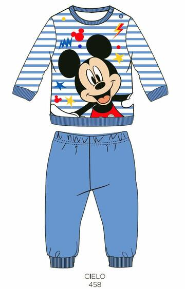 Pigiama neonato in cotone Disney WD101758 - SITE_NAME_SEO