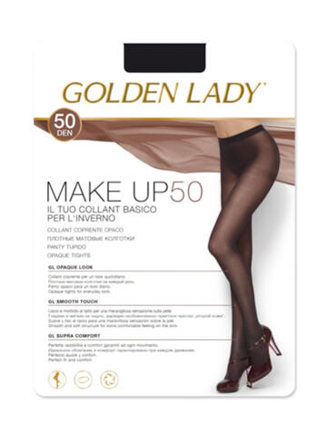 COLLANT COPRENTE OPACO DONNA GOLDEN LADY MAKE UP 50 - SITE_NAME_SEO