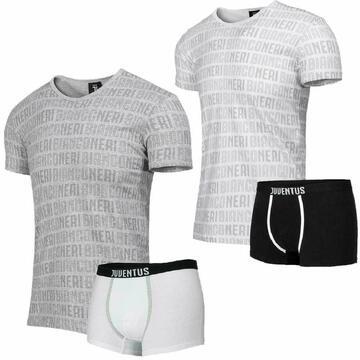 Completo bambino con t-shirt e boxer Juventus B2JU12055 - SITE_NAME_SEO