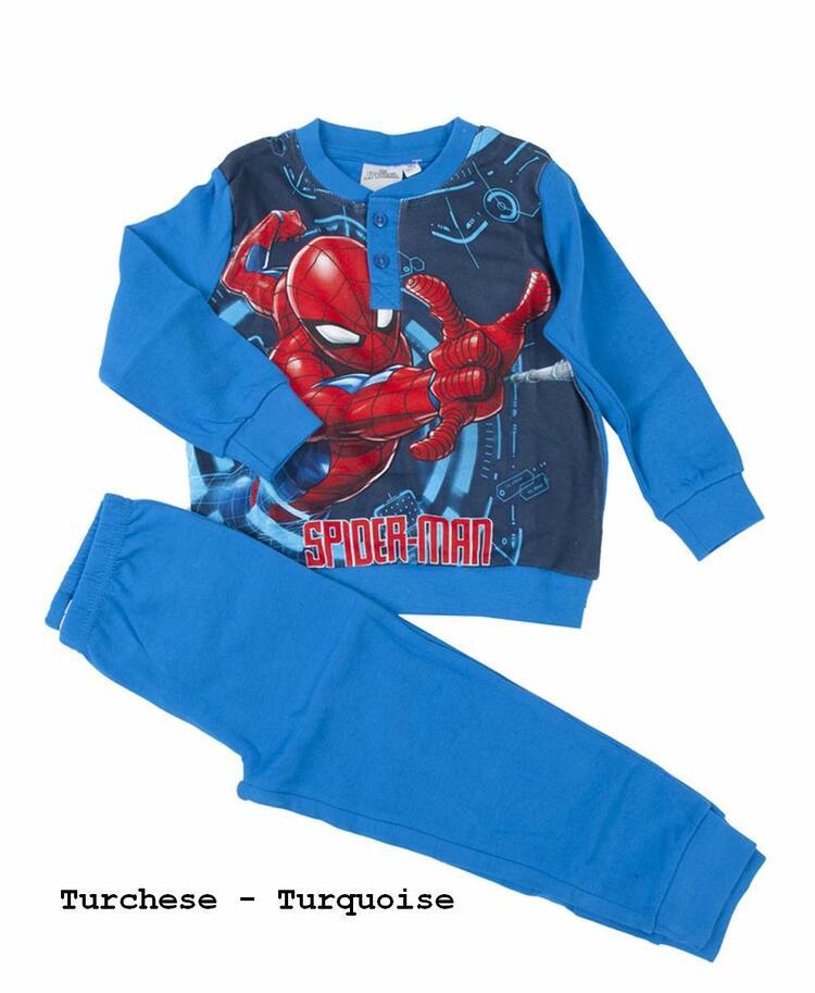 Pigiama da bambino in CALDO cotone Marvel Spiderman SPM-0018 SPIDERMAN