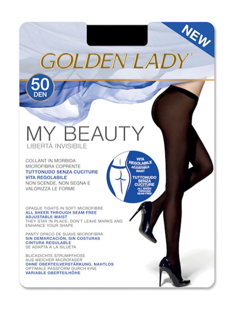 COLLANT DONNA GOLDEN LADY MY BEAUTY 50 Golden Lady