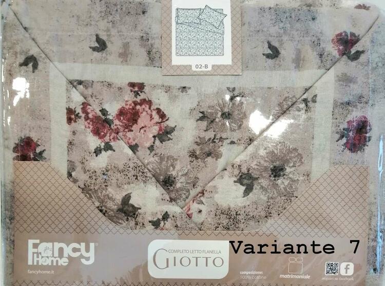COMPLETO LETTO MATRIMONIALE FANCY HOME GIOTTO FANCY HOME